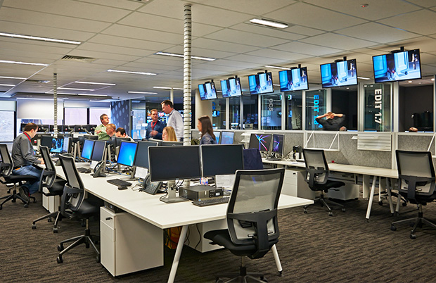 Channel Nine Fitout