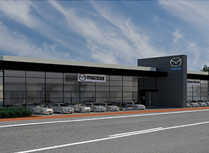 Australian Motors Mazda Showroom