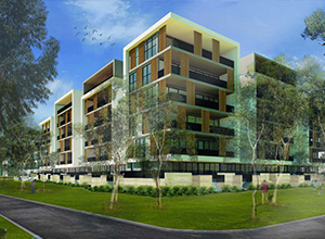 Glenside Botanica Apartments Artists Impression