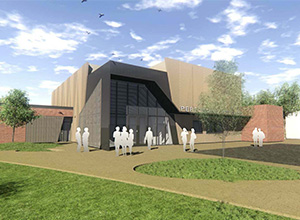 St Johns Grammar Performing Arts Centre Architectural Image