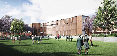 Westminster School Campus Upgrade Artists Impression