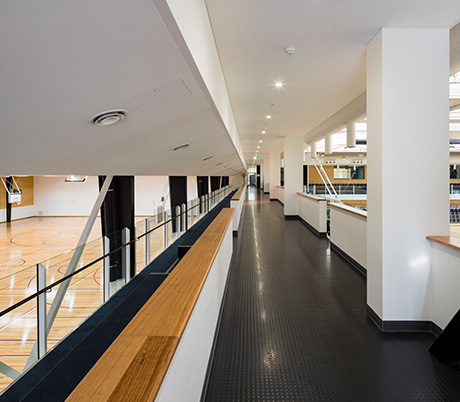 Campbelltown Leisure Centre - The Arc Court and walk way