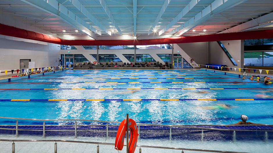 Campbelltown sporting leisure centre known as the arc - Arc swimming pool ...