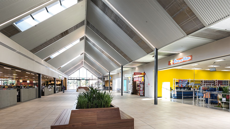 Barossa Retail Cente Ceilings
