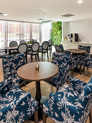 Regis Aged Care Dining Area