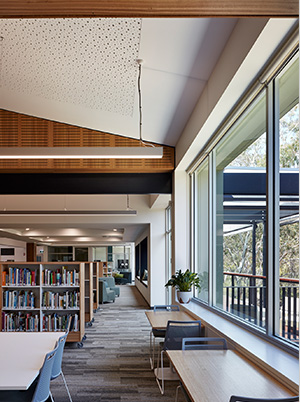 St Peters Girls Library