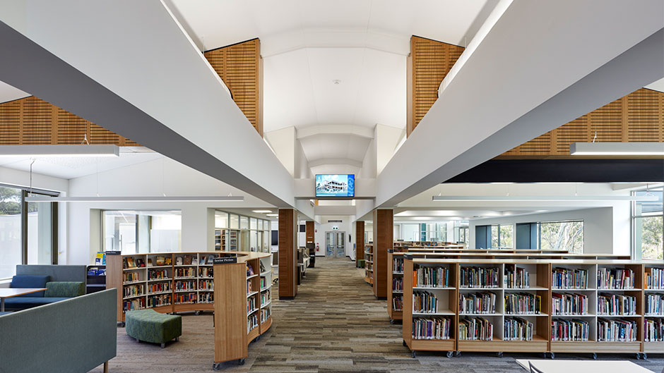 St Peters Girls Library Ceilings