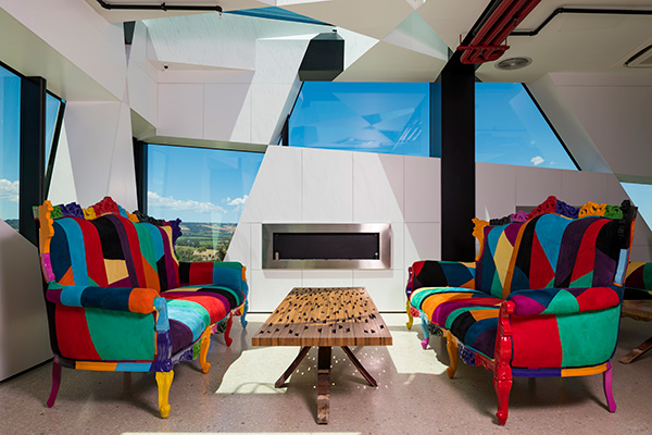 d'Arenberg Cube internal couches
