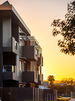 Minda Apartments at Sunset