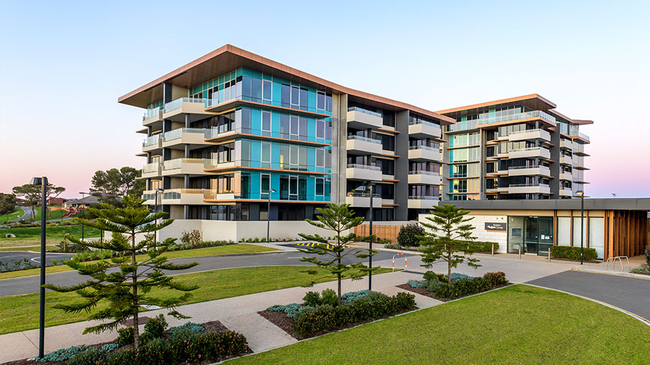 Minda Brighton Dunes Retirement Living External View