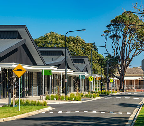 Lifestyle Precinct at Minda Brighton