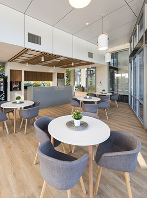 Resthaven Aberfoyle Park Aged Care Seating Area