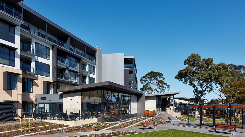 Southern Cross Care Carmelite Vertically Integrated Retirement Living and Landscaping