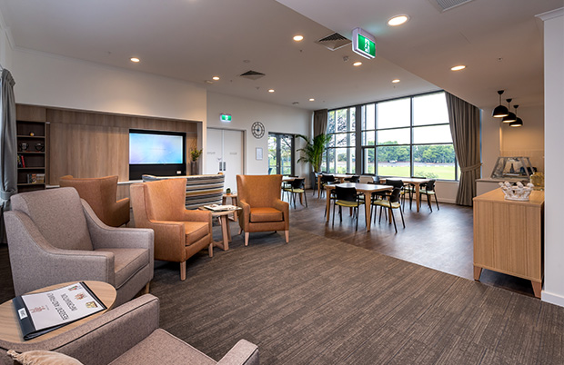 Life Care Reynella Lounge and Dining area