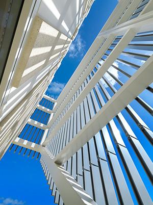 Architectural Details Kildare College Facade