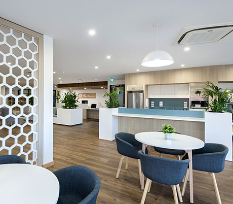 Reception and Kitchen at Resthaven Murray Bridge