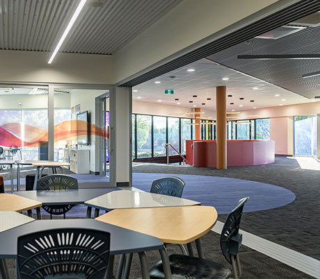 Classroom at faith lutheran college east wing
