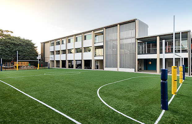Sporting Ground at St Marys Memorial School