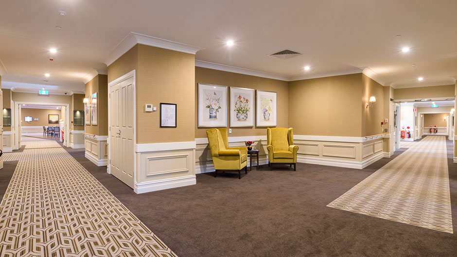 Allity-Aged-Care-Interior-Hallway