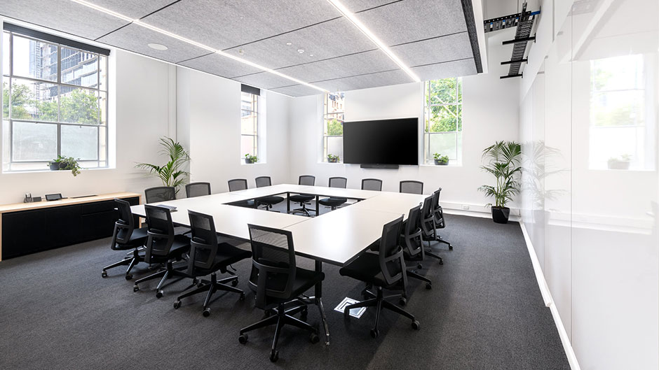 The University of Adelaide Womens Health Centre Meeting Room