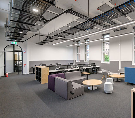 The University of Adelaide Womens Health Centre internal fitout