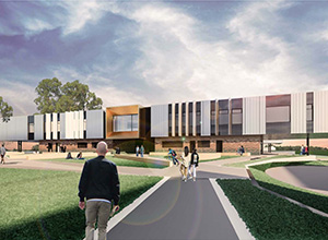Murray Bridge High School Artist Render