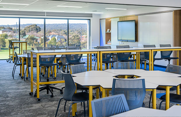 Gleeson-College-modern-Senior-Learning-Centre-classroom-for-students