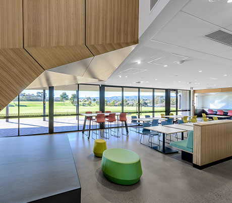 Gleeson College-modern-and-high-quality-Senior-Learning-Centre-classroom